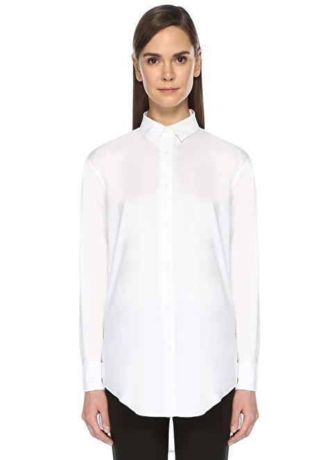 Beymen Collection Uzun Kollu Gömlek Beyaz